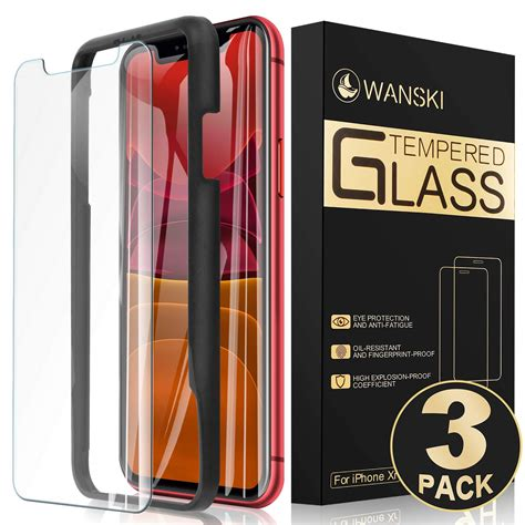 tempered glass screen protector  iphone  iphone xr