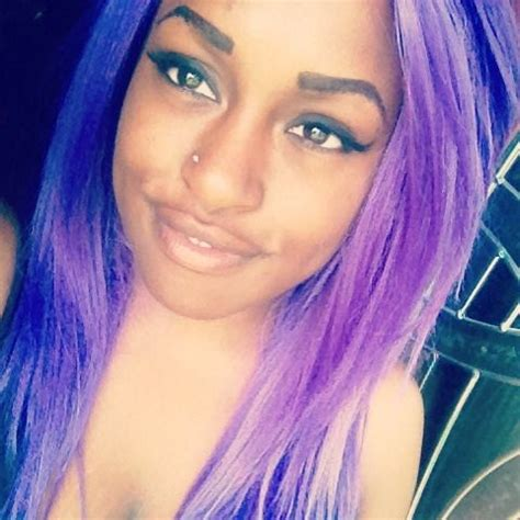 nose hair color black girls purple hair and alternative on pinterest