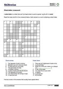 silent letter crossword