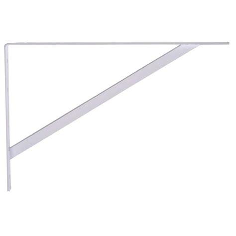 Folding Shelf Bracket Home Depot by Knape Vogt 12 In Heavy Duty Folding Shelf Bracket In