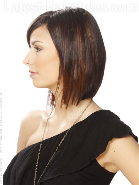 skinny bob haircut skinny bob haircut sleek bob sculpted layers side view