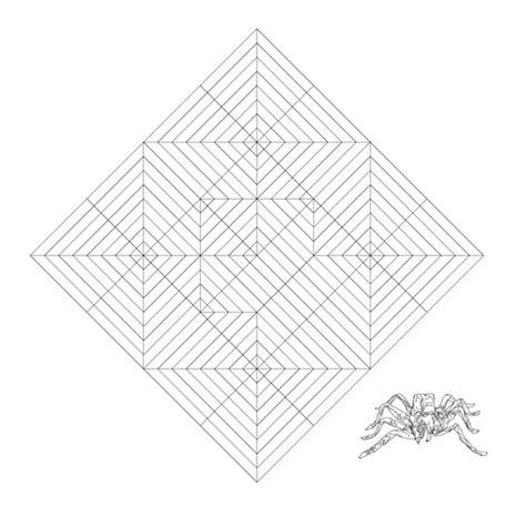 Origami Spider Web - spider origami 171 embroidery origami