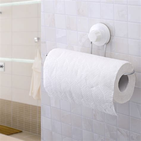 Bathroom Paper Towel Holder strong suction cup toilet paper holder bathroom accessories no kitchen towel rack