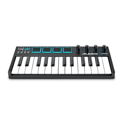 Keyboard Controller alesis v mini 25 key midi keyboard controller at