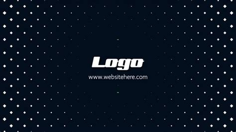clean simple logo reveal after effects templates