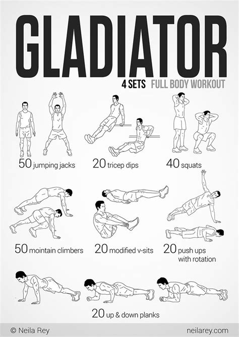 gladiator workout i can but try bootc