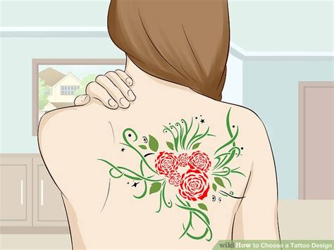 how to choose a tattoo design 2 simple ways to choose a design wikihow