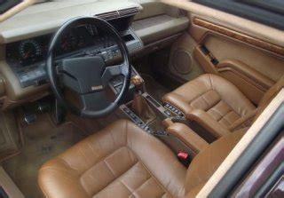 location renault r25 v6 turbo baccara black cherry 1989