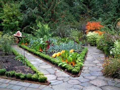 Gardener In A Forest Potager Inspiration For Your Garden Vegetable Garden Landscaping
