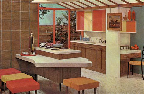 1960s Kitchen Cabinets by Decorating A 1960s Kitchen 21 Photos With Even More