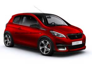 Peugeot 108 Pictures Peugeot 108 Gti Rendering Takes You Back To The Saxo Vts