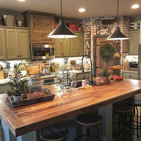 rustic farmhouse kitchen ideas 24 farmhouse rustic small kitchen design and decor ideas