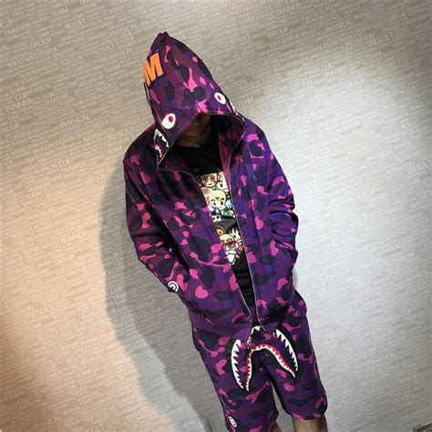 Sweater Hoodie Bape 4 best cheap bape color camo shark sweater hoodie for sale