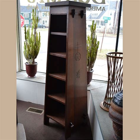 pedestal magazine tall roycroft magazine pedestal for sale dalton s