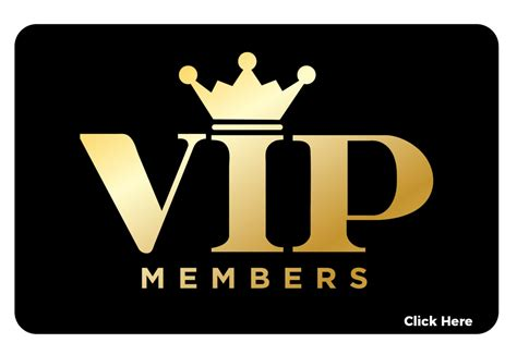 vip subscription vip customers just