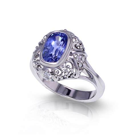 light blue sapphire ring jewelry designs