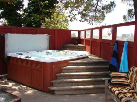 clothing optional bed and breakfast soothing hot tub 帕薩迪納arroyo del sol clothing optional bed and breakfast的