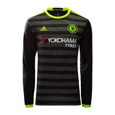 Sale Jersey Chelsea Home Ls Longsleeve 2016 2017 Limited Edition chelsea away jersey 2016 17 sleeve the official asia store of chelsea fc chelsea