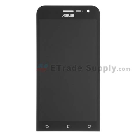 Lcd Asus Zenfone 2 5 0 Z00d Ze500cl Lcd Only 1 asus zenfone 2 ze500cl lcd screen and digitizer assembly black etrade supply