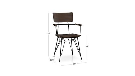 ls plus dining chairs elston dining arm chair crate and barrel