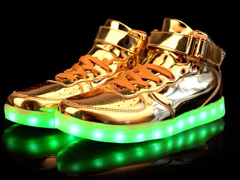 gold light up shoes find amazing led shoes today m becker