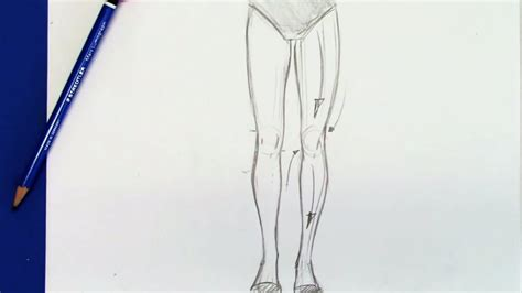 Drawing Legs by How To Draw Legs