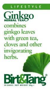 Detox Herbal Tea Birt Tang by Birt Tang Ginkgo Tea