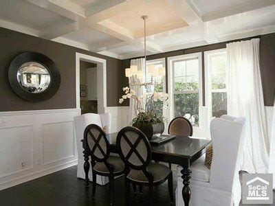 Brown Dining Room Walls by A Tale Of Two Dining Room Walls