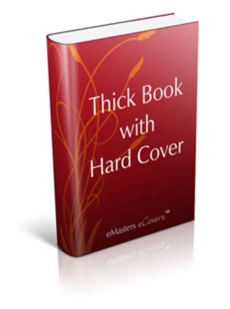 Thick Covers thick book with cover