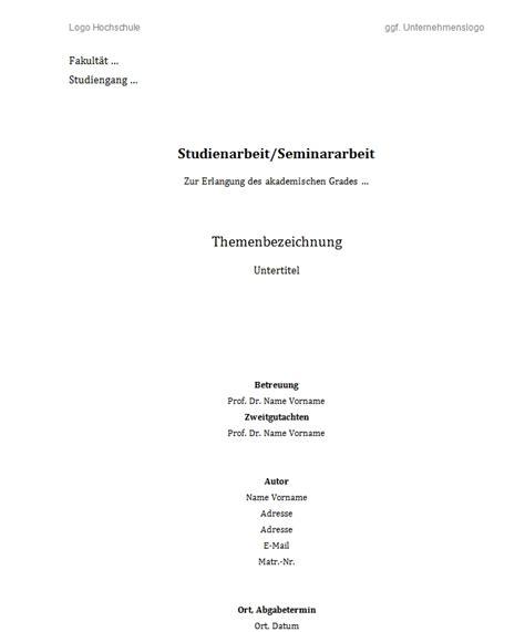 hausarbeit deckblatt muster download music. aufbau deckblatt abbild ...