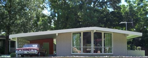 mcm home miniature mid century modern house i built this model as