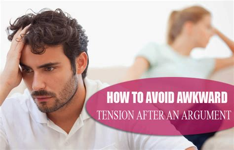7 Ways To Avoid An Argument by How To Avoid Awkward Tension After An Argument 7 Tips