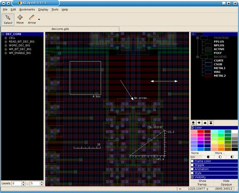 layout editor boolean klayout layout viewer and editor