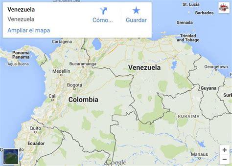 imagenes satelitales de venezuela actualizadas google maps quita el esequibo a venezuela