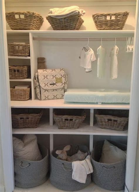 Nursery Closet Ideas by 20 Simple And Practical Nursery Organization Hacks Home Design And Interior