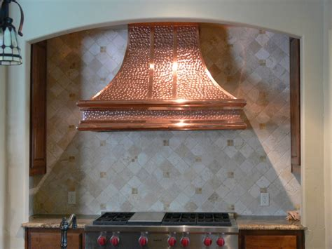 Copper Vent For Kitchen Install A Kitchen Copper Vent Hoods The Homy Design