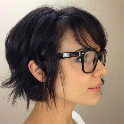 Hairstyles For 45 With Glasses hair pixie cut hairstyle with glasses ideas 45