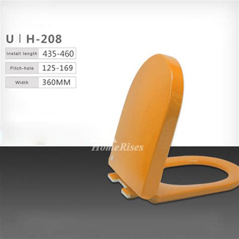 colored toilet seats colored toilet seats cushion pp u type bathroom