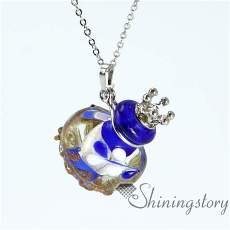 aromatherapy necklace wholesale murano glass essential
