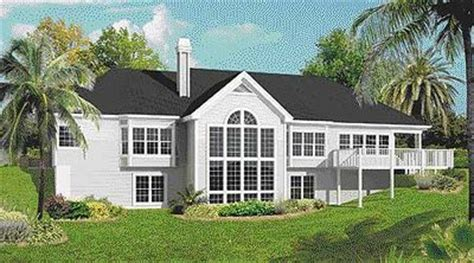 atrium ranch home plan with sunroom 57155ha architectural atrium ranch home plan with sunroom 57155ha