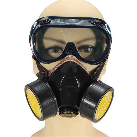 spray painter mask dual anti dust respirator mask glasses set spray paint