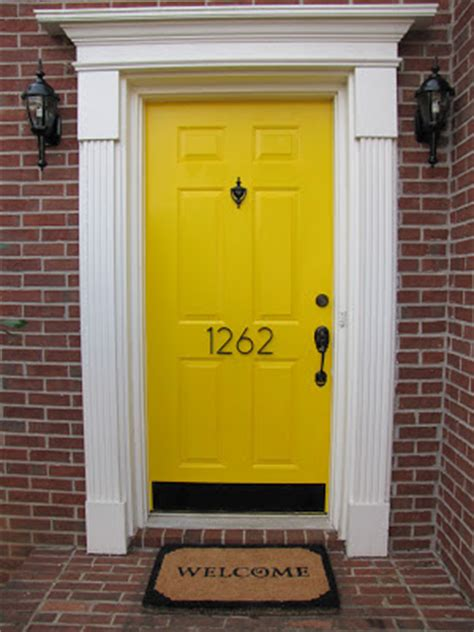 Exterior Doors Ta The Wires Family Our House Has A Yellow Door