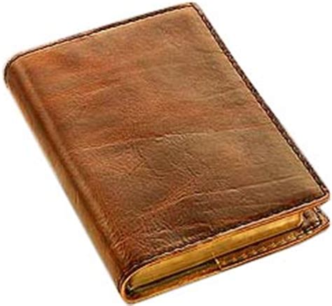 Handmade Leather Book Covers - zen grail diary book selection page