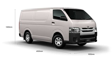 Toyota Hiace Measurements Manual Turbo Diesel Wheelbase Hiace Toyota