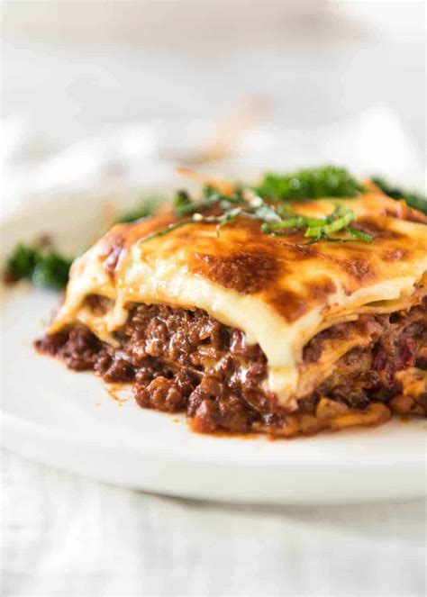 how to make lasagna with cottage cheese lasagna recipetin eats