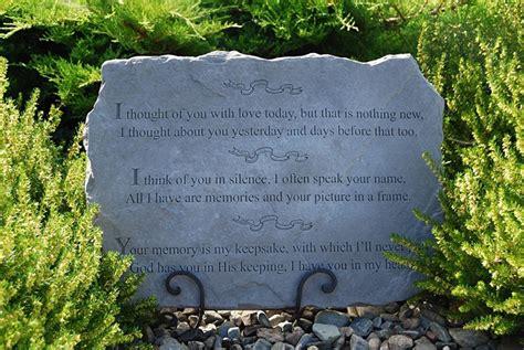 memorial plaques large memorial garden stone special