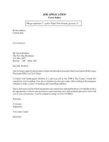 how to write a application letter for bank cover