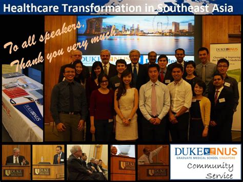 Nus Mba Healthcare by Healthcare Transformation In South East Asia Duke Nus