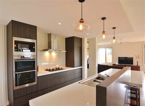 warm modern kitchen warm modern kitchen modern kitchen melbourne by
