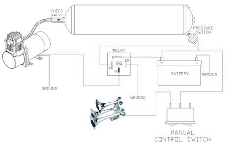 car horn wiring wiring diagram